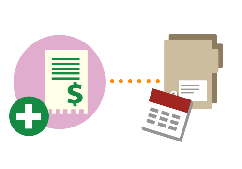 Emitere factură pentru dosar cu abonament