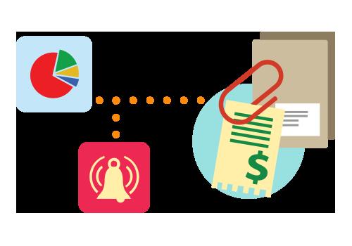 Adăugare cheltuieli într-un dosar sau proiect