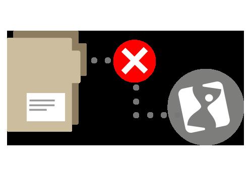 Inactivare (ștergere) dosar/proiect
